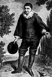 Raymond Poisson dans le rôle de Crispin